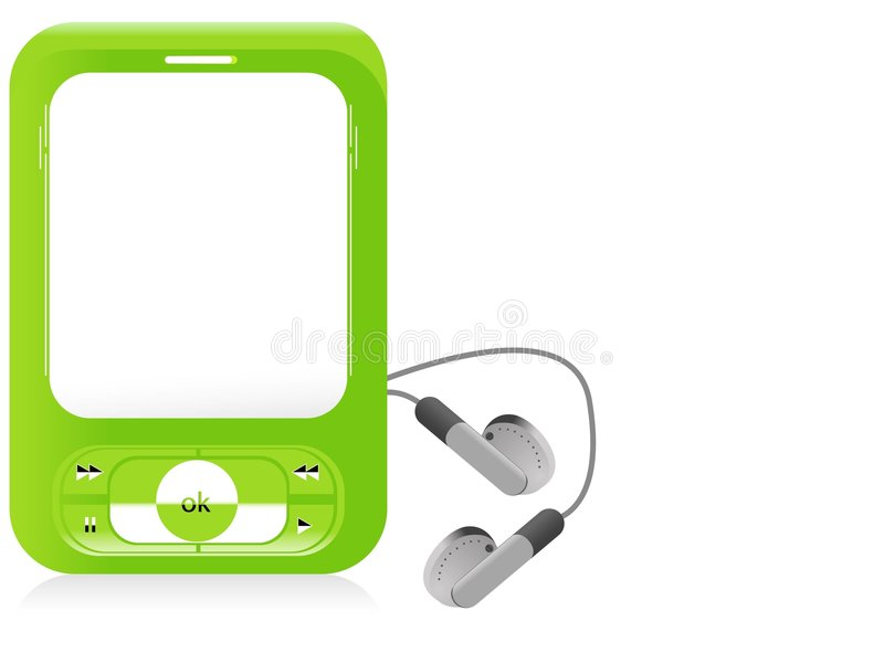 iPod 库存例证