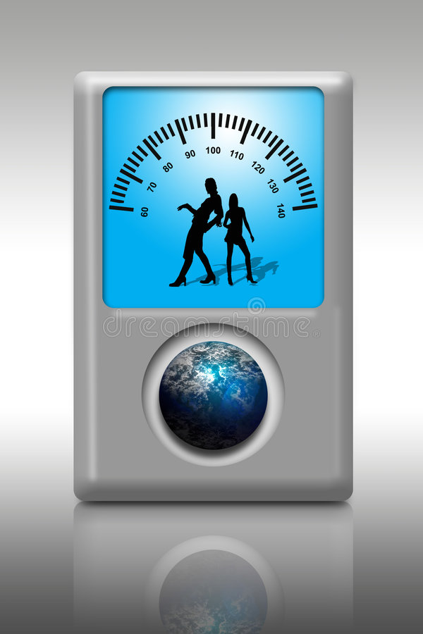 iPod mp3 spelare stock illustrationer