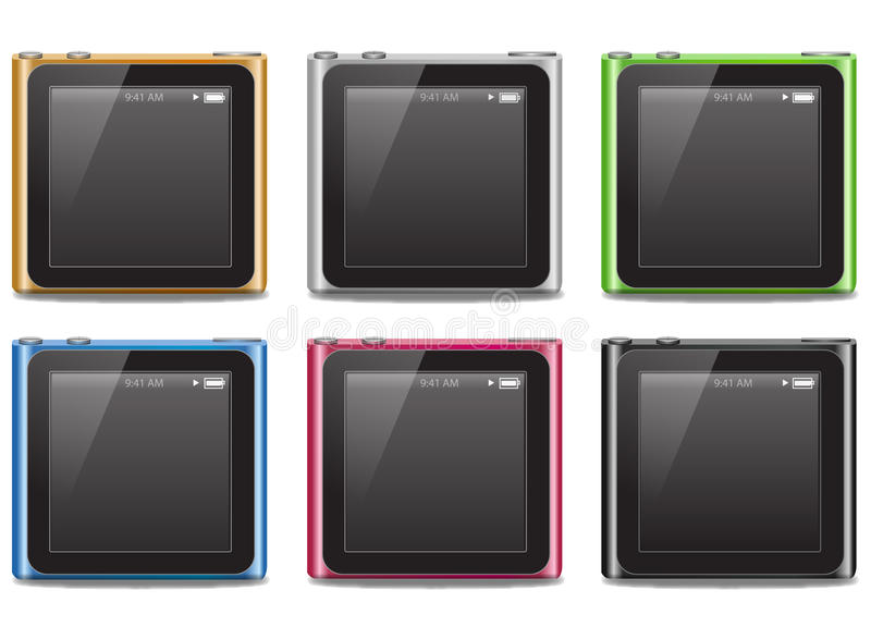 Ipod Nano 2010 Editorial Stock Photo