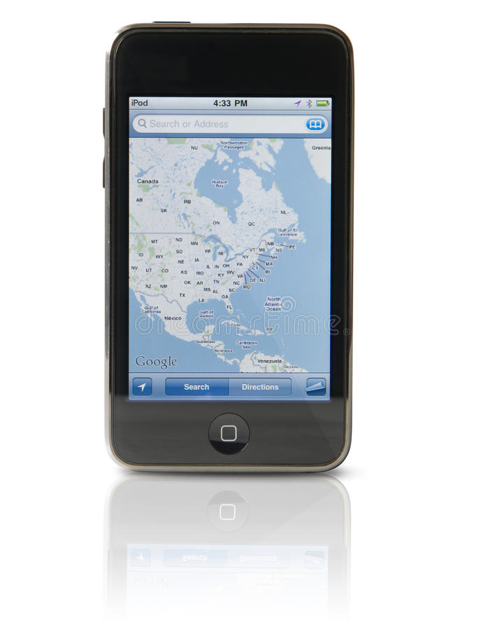 IPod-Note 3G stockfotografie