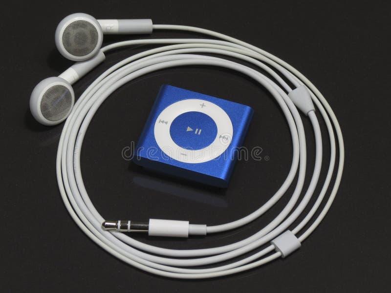 IPodschuifelgang van Apple stock foto's