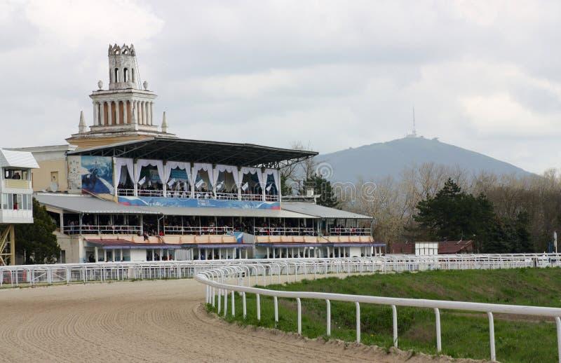 Ippodromo in Pyatigorsk. fotografie stock
