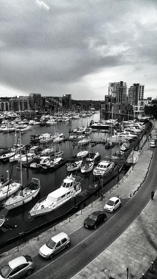 Ipswich Marina, Suffolk, England royalty free stock images