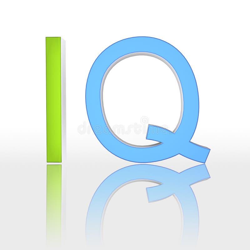 Download IQ stock illustration. Illustration of quotient, curiosity - 9539210