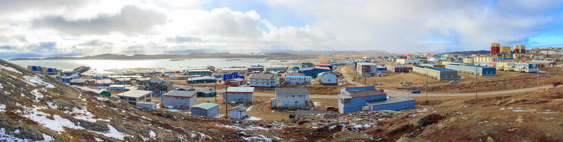 Iqaluit, Καναδάς στοκ φωτογραφία