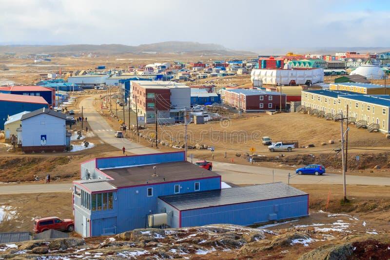Iqaluit, Canada. Iqaluit in Nunavut, Arctic Canada stock photography