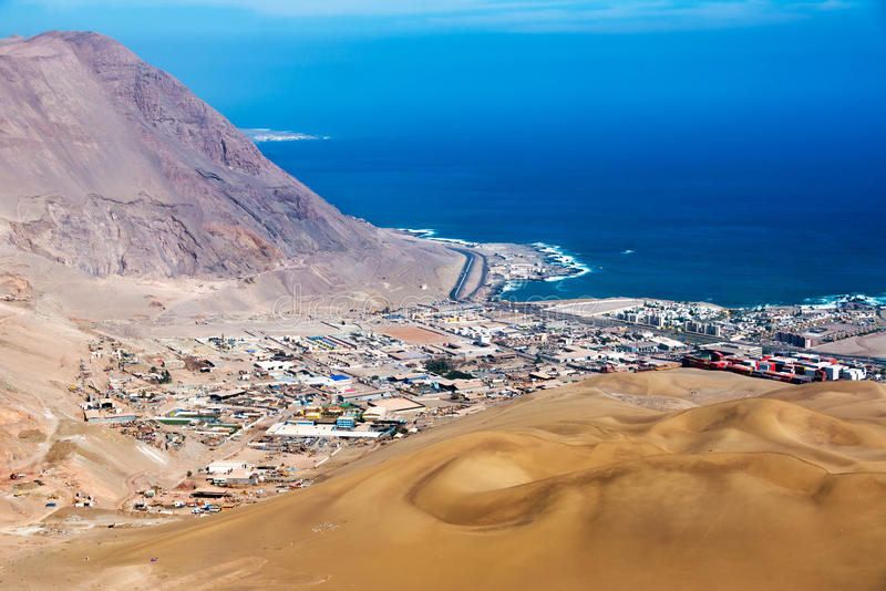 Iquique, Chile stockfoto