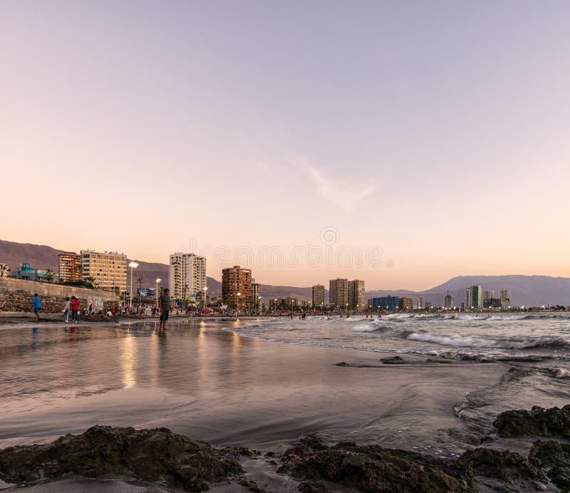 Iquique, Chile - 5. Februar 2017 lizenzfreies stockfoto