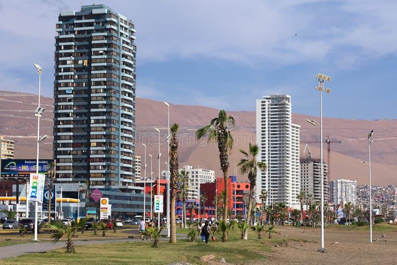 Iquique, Chili royalty-vrije stock afbeeldingen