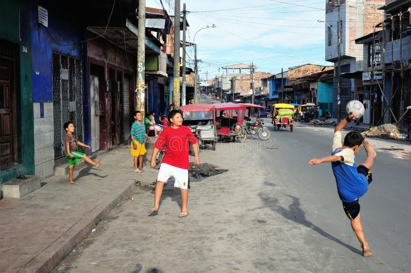Iquitos - Περού στοκ εικόνες