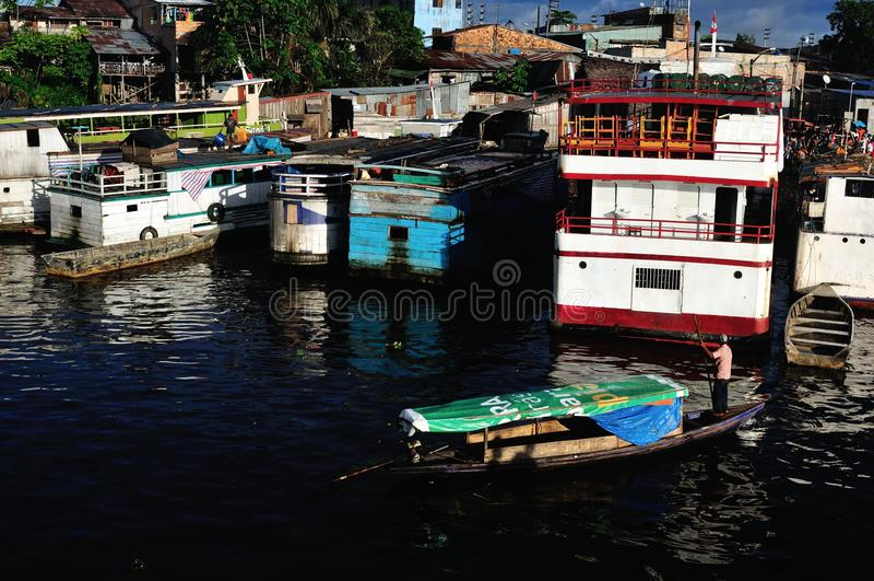 Iquitos - le Pérou images libres de droits