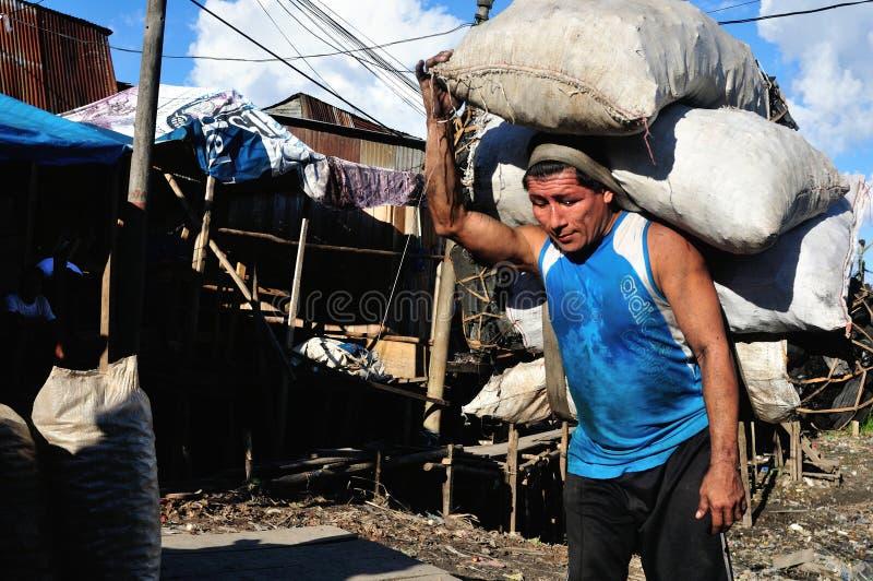 Iquitos - Peru stock foto's