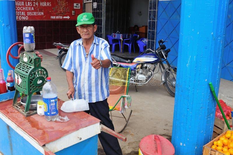 Iquitos - Peru stock afbeelding