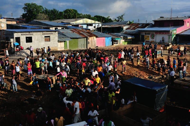 Iquitos - Peru imagem de stock