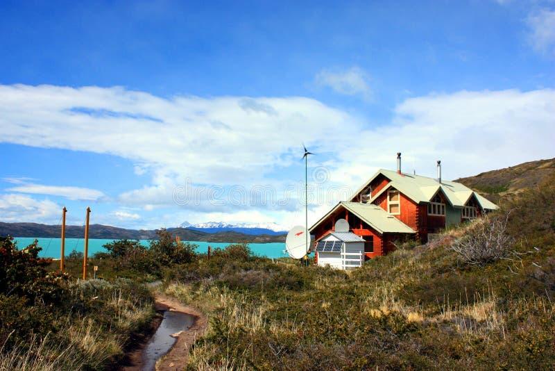 Ir de excursión patagonia foto de archivo