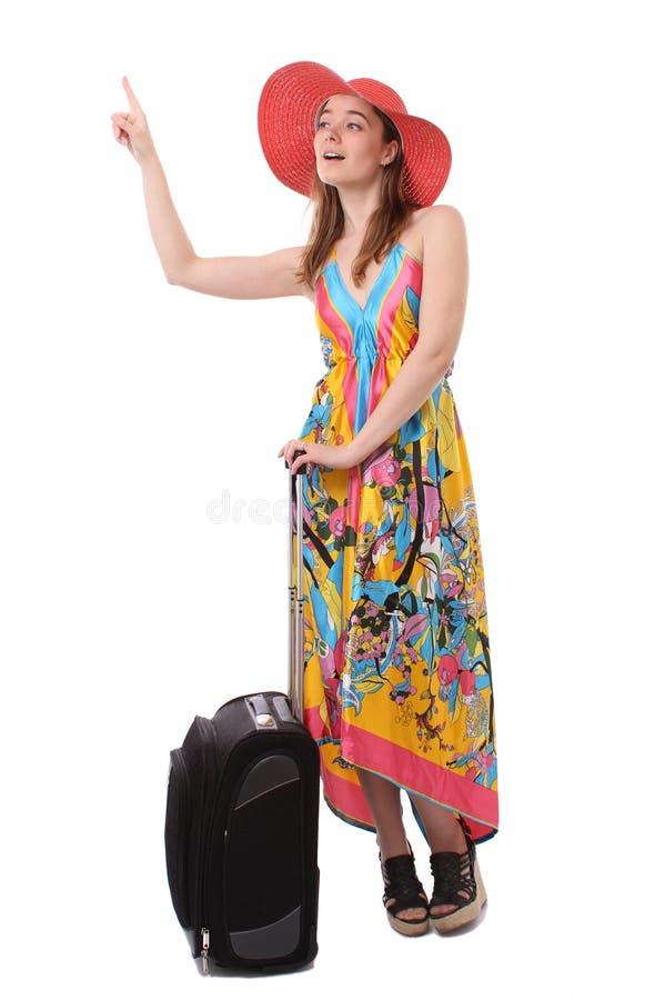 Ir em férias imagem de stock