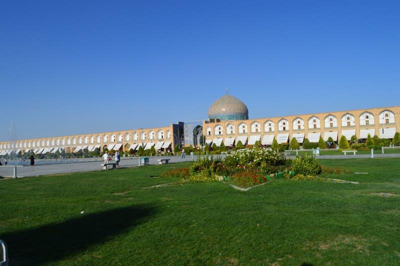 ir?n El imán Square está situado en el centro de Isfahán imágenes de archivo libres de regalías