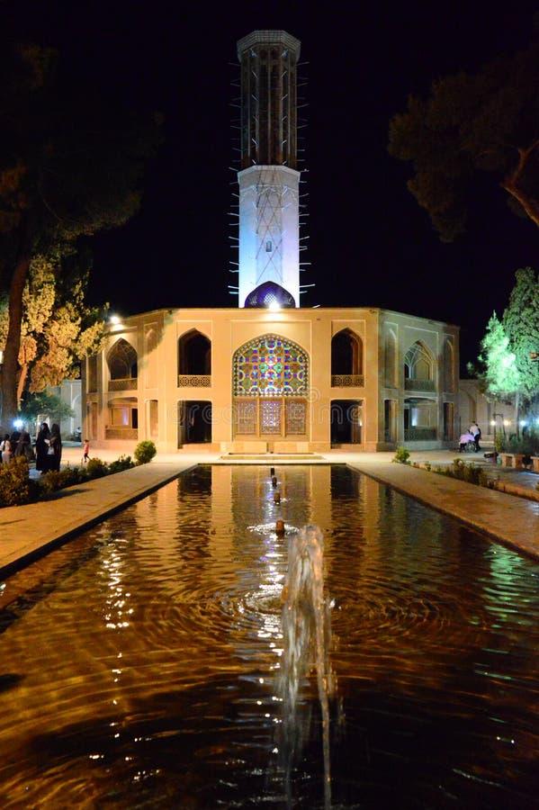 ir?n Yazd visi?n desde el tejado imágenes de archivo libres de regalías