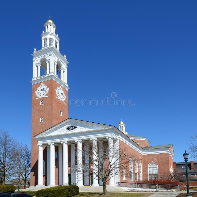 Ira Allen Chapel, UVM, Burlington, Vermont stock afbeeldingen