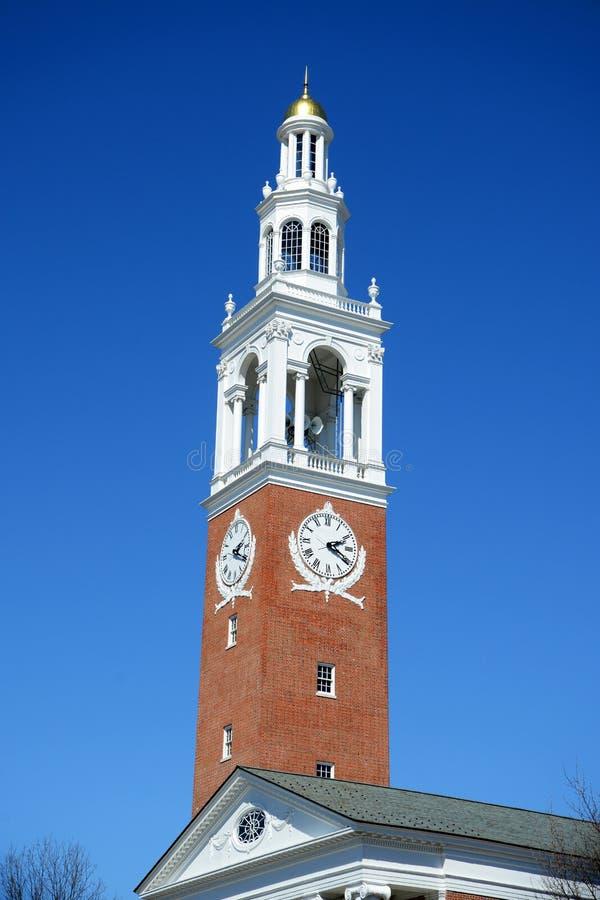 Ira Allen Chapel, UVM, Burlington, Vermont lizenzfreies stockbild