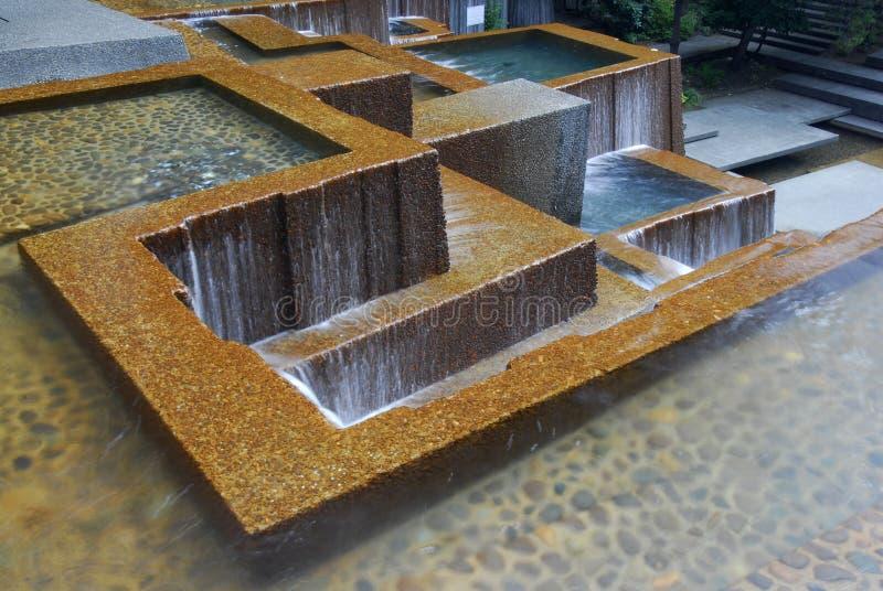 Ira's Fountain, Portland Oregon royalty free stock photo