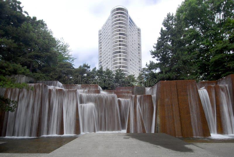 Download Ira's Fountain, Portland Oregon Stock Photo - Image: 10609702