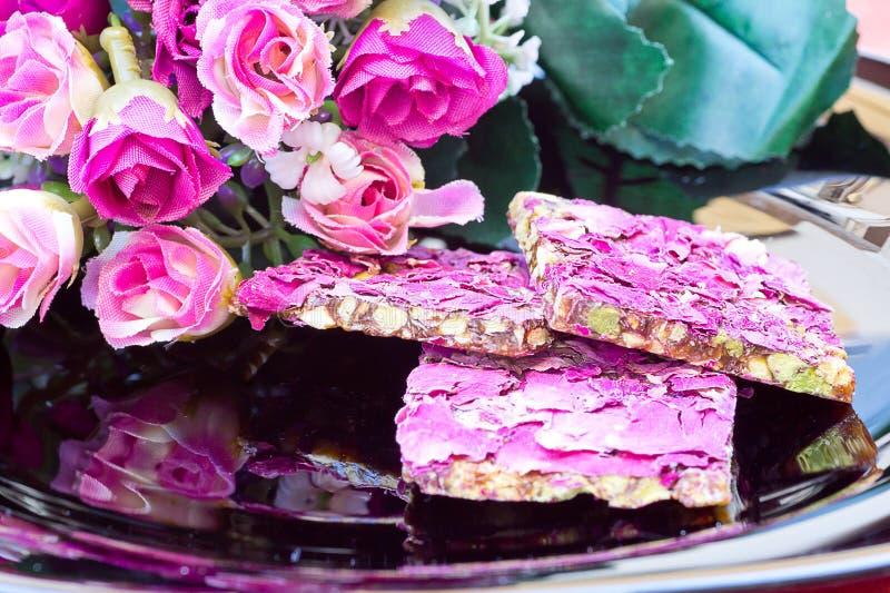 Iraanse snoepjes stock afbeeldingen