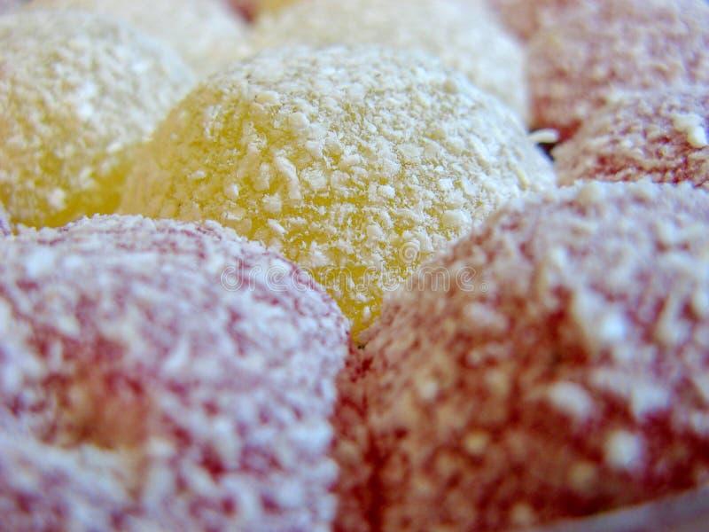 Iraanse Snoepjes in de vorm van een hart royalty-vrije stock afbeeldingen