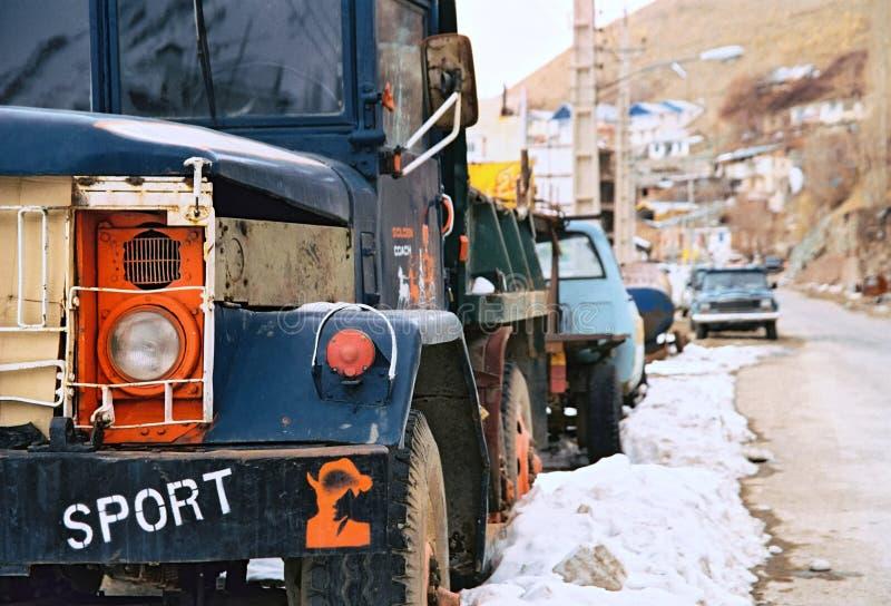 Irainan LKW lizenzfreie stockfotografie