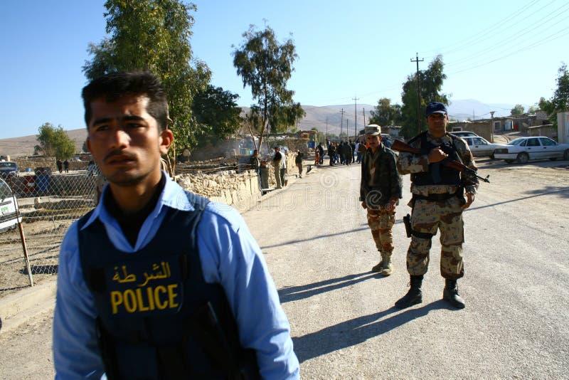 irakijscy żołnierze fotografia royalty free