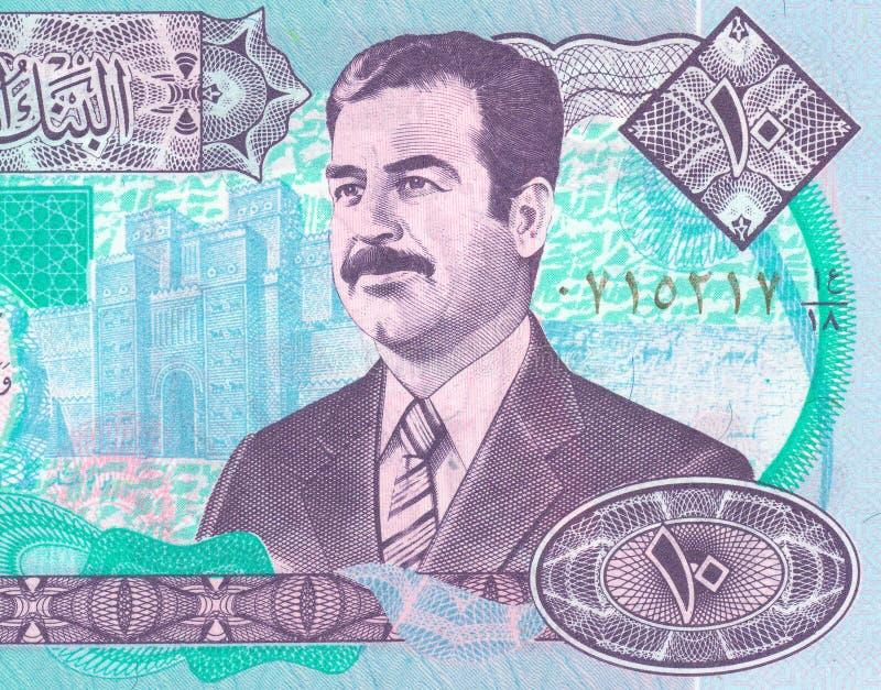 Irakisk dinar royaltyfria foton