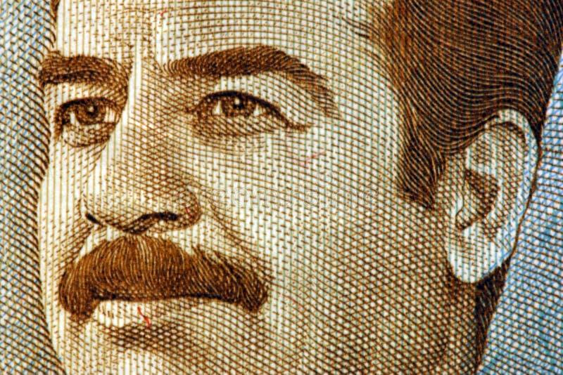 Irakiska pengar arkivbilder