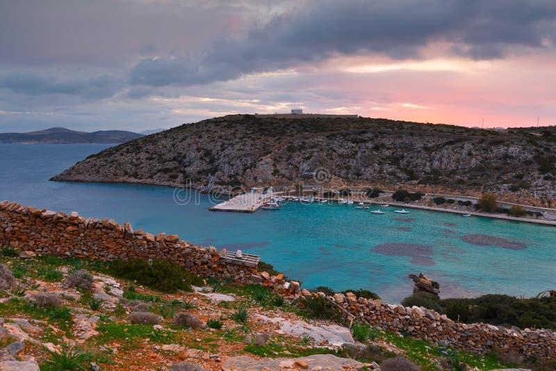 Iraklia wyspa obrazy royalty free