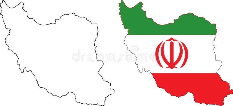 iran ilustracji