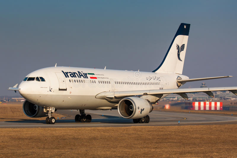 A310 Iran Air stock fotografie
