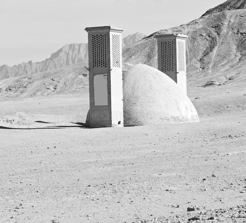 In Iran de antieke tempel stock afbeeldingen