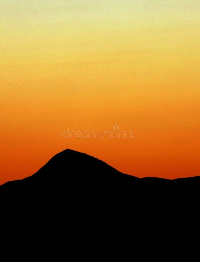 Iran dessert sunset royalty free stock images