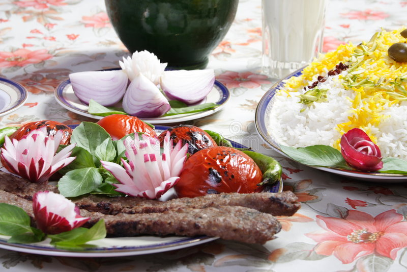 Iran food stock photo