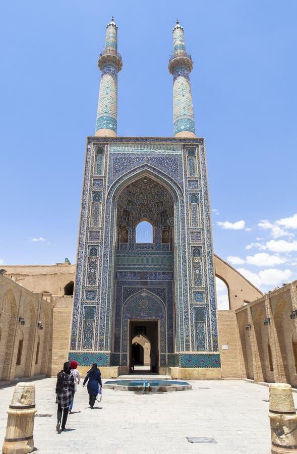 iran moské shiraz royaltyfri fotografi