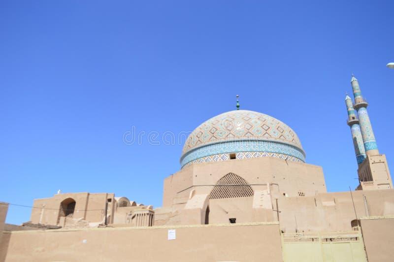 Iran Yazd Piątku Katedralny meczet obraz stock