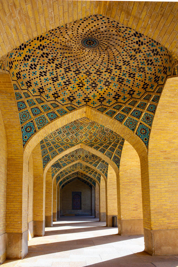 Iranian architecture royalty free stock photos
