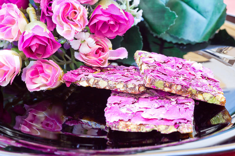 Iranian sweets. stock images