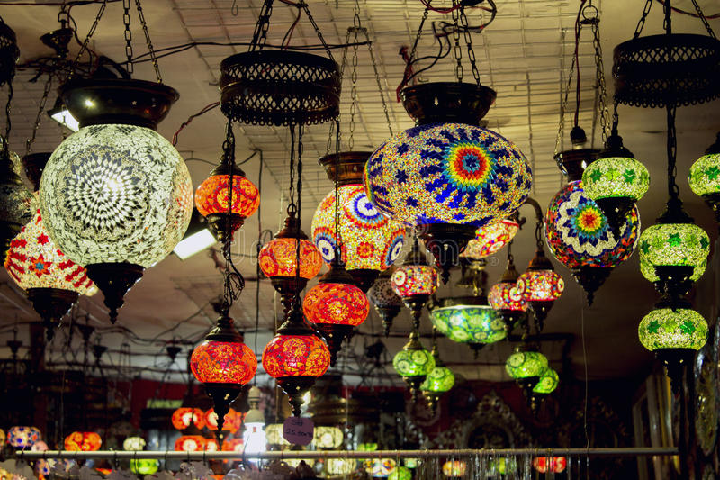 Iranischer Lampe stockfotos