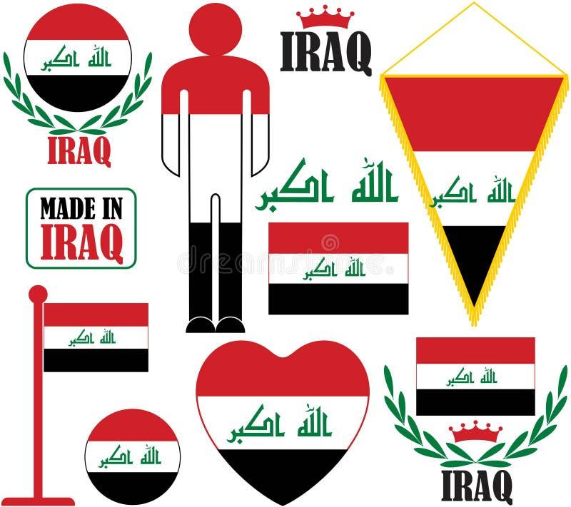 iraq stock de ilustración