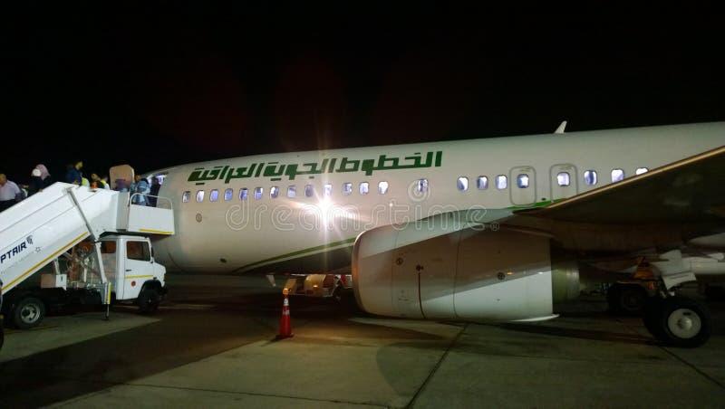 Iraqi Airways photographie stock libre de droits
