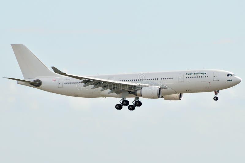 Iraqi Airways A330 photo stock