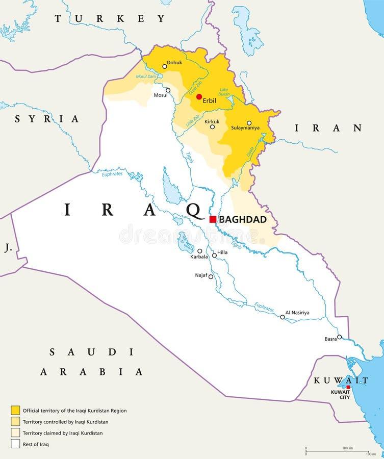 Iraqi kurdistan region political map stock vector illustration of download iraqi kurdistan region political map stock vector illustration of illustration kurdistan 100332273 gumiabroncs Images
