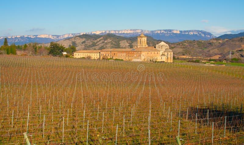 Download Iratxe Monastery And Vineyards. Stock Image - Image: 23711983