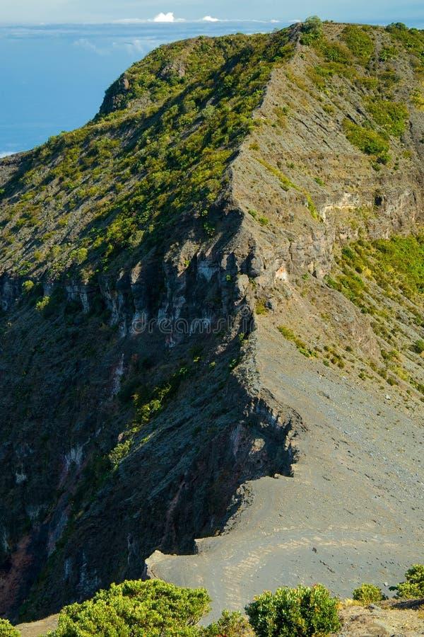 Irazu vulkan arkivfoto