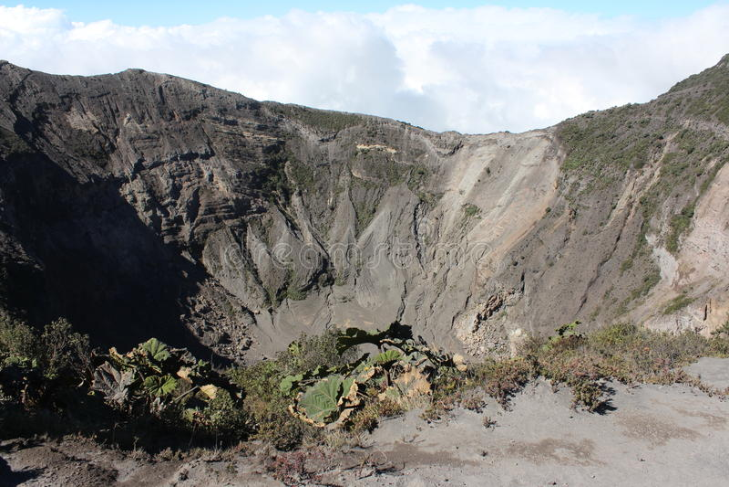 Irazu Vulkan stockbild